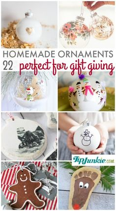 22 Easy Homemade Orn