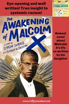 Review of The Awakening of Malcolm X Ya Novels, Malcolm X, Page Turner, First Novel, He Is Able, Black History Month, Oppression, Book Club Books, Writing A Book