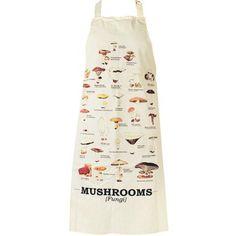 Gift Republic Ltd Ecologie Multi Mushroom Apron for sale online Christmas Aprons, Kids Christmas, Aprons For Sale, Pvc Apron, Organic Company, Gardening Apron, Chef Apron, Mushroom Fungi, Kitchen Aprons
