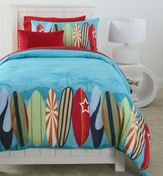 Surfer Bedding | Kids Bedding | Pinterest | Room : surf quilt cover - Adamdwight.com
