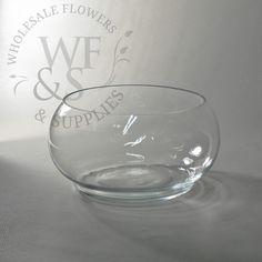 "8"" Glass Lily Bowl"