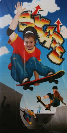 """This party happens to have been for my son.  He just turned 4 and is a """"skater dude"""" at heart.  I let him choose the theme and he was SURE t..."""