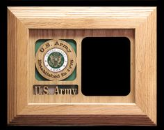 U.S. Army 5 x7  Personalized Military Photo by SpeciallyEngraved, $28.00