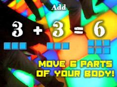 THE ADD AND SUBTRACT BODY PART DANCE! Song by: Jack Hartmann Video by: Mr. Harry Another song to get the kids moving and exercising. Kids move the number of body parts that is equivalent to the sum of each addition sentence. Math Songs, Kindergarten Songs, Math Resources, Math Activities, School Resources, School Songs, School Videos, School Stuff, Math Addition