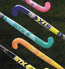 STX Field Hockey - wish our field hockey sticks were like this