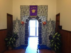 """VBS decorations for """"The Mighty God"""" by Bogard Press!"""
