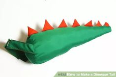 Image titled Make a Dinosaur Tail Step 9