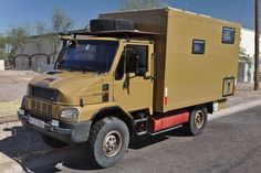 A rare BREMACH 4x4 overland vehicle, currently for sale at allrad-christ.com in Germany