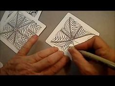Molygon. Tangle Pattern Lesson #13 how to draw - YouTube