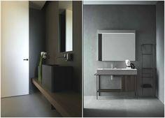 Креативные тумбы для раковины в стиле минимализм #interior #мебель #дизайн #интерьер #дом #уют #декор