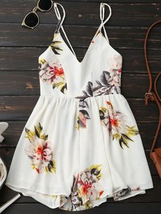 GET $50 NOW | Join Zaful: Get YOUR $50 NOW!http://m.zaful.com/spaghetti-strap-backless-floral-wide-leg-romper-p_277359.html?seid=2224883zf277359