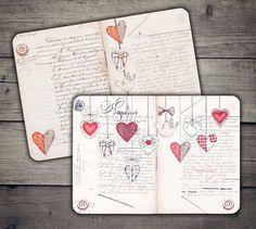 Far Scrapbook For Kids Bullet Journal Ideas Pages, Bullet Journal Inspiration, Junk Journal, Valentines Watercolor, Watercolor Heart, Scrapbook Journal, Scrapbook Stickers, Journal Covers, Cover Pages