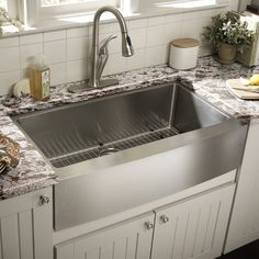 """Found it at Wayfair - 22"""" Single Bowl Farmhouse Kitchen Sink"""