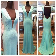 Prom Dresses,Evening Dress,Modest Prom Dresses,Mint Green Prom Dresses,Backless