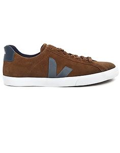 release date: fe427 7b3f1 VEJA Trainers, Price  GBP 78.21, Esplar Sneakers In Cocoa Suede