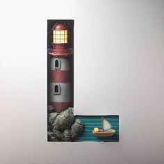 """Découvrez le superbe travail de """"lukedoylestudio"""", un Londonien qui vient de créer une série de lettres illustrées. Un travail magnifique avec des détails"""