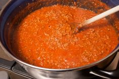Macaroni Spaghetti, Spaghetti Bolognese, A Food, Good Food, Food And Drink, Italian Recipes, Catering, Slow Cooker, Cooking Recipes