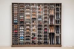 Organize by style, shape, or season so you can find the perfect pair of shoes or boots for any outfit or occasion. The flexible design makes it simple to move or add more shelves as you update or expand your collection.