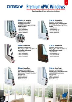 #Dimex #uPVC #Profile having the BEST Grade Quality  uPVC PREMIUM Series Technical Specifications The Superiority points of Dimex PREMIUM Series Profiles: –  High UV Retardant with 8 Parts of Titanium Dioxide With 2.5 mm. wall thickness. 8000 hrs. Xenon Tested Eco Friendly Fire Resistant Sound Proof Energy Saving Termite Proof Water Resistant Burglar Proof  www.dimex.in