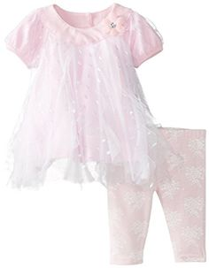 Nannette Baby-Girls Newborn 2 Piece Ruffled Dress Set, Blush Bride, 0-3 Months Nannette http://www.amazon.com/dp/B00KLZIOXE/ref=cm_sw_r_pi_dp_ErFDub07Z37AQ