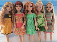 It's been a lovely sunny day so Amber, Meredith, Bethan, Louisa and Katrina have been to the beach to show off their new outfits!!