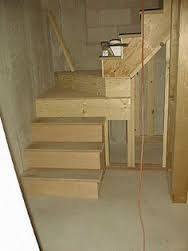 Inspiring Attic remodel on a budget,Your attic storage and Attic renovation ireland. Open Basement Stairs, Garage Stairs, Flooring For Stairs, Attic Stairs, House Stairs, Basement Steps, Attic Floor, Attic Ladder, Attic Closet