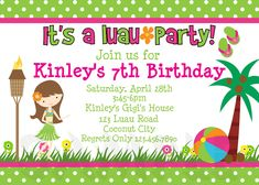 Birthday party invitations wording samples birthday party for luau birthday invitations free ideas check more at httpegreeting ecards20161209unique ideas for luau birthday invitations free ideas stopboris Choice Image