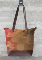 Fire in the Sky Bag: What a beautiful product! Cowhide Leather, Fire, Cow Hide, Sky, Tote Bag, Prints, Handbags, Accessories, Artist