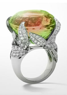 Aaaaaaaaaaah!!!!!wow!!!!The Arbre aux Songes Ring from Van Cleef & Arpels. Whoa.