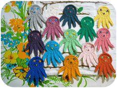 octopus crochet by Adaiha, via Flickr