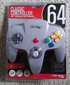 Retrolink Nintendo 64 Style USB wired controller for PC and Mac