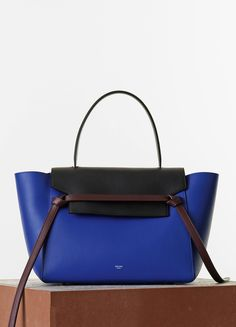 508a3744b770 SMALL BELT BAG IN INDIGO MULTICOLOUR SMOOTH CALFSKIN 30 X 24 X 22 CM (12