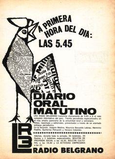 LR3, RADIO BELGRANO, Buenos Aires.