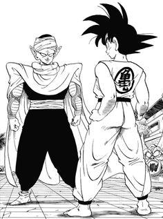Dragon Ball Z Manga Piccolo Goku