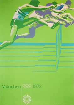 Munich 1972 Olympics poster -- one of many