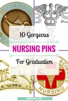 10 Gorgeous Nursing Pins For Graduation #Nursebuff #Nurse #Gifts