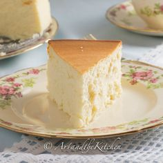 Tall and Creamy New York Cheesecake - Art and the Kitchen