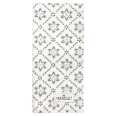 GreenGate Autumn/Winter 2014 Teatowel Luna Pale Grey 50 x 70 cm