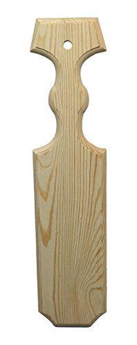 JennyGems Unfinished Greek Sorority / Fraternity Wood Paddles