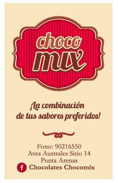 Marca y tarjeta, Chocomix. Equipo Ganador Punta Arenas, Programa Exploro mi Camino.