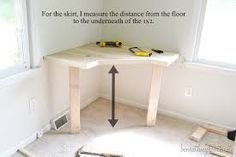 diy corner makeup vanity - Google Search