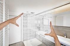 DIY- Convert a regular shower to a steam shower: http://steamshowersinc.com/blog/diy-converting-a-regular-shower-to-a-steam-shower/