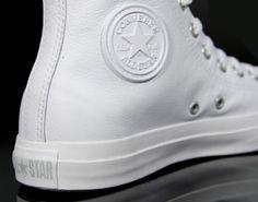 Converse Chuck Taylor Allstar – Monochrome – White Leather