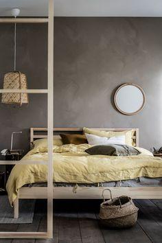 Vida sostenible Cute Apartment, Apartment Bedroom Decor, Ikea Bedroom, Room Decor Bedroom, Bedroom Furniture, Bedroom Signs, Bedroom Rustic, Bed Room, Bedroom Ideas