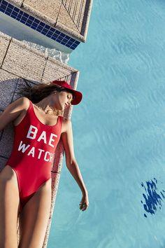 Bae Watch One-Piece Swimsuits The Bikini, Bikini Girls, Bikini Set, Bikini Swimsuit, Beach Babe, Swimsuits, Swimwear, Primark, One Piece Swimsuit