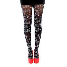 I love these tights. #PerksOfBeingABandNerd