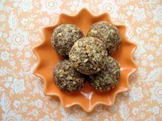 Chocolate Ganache Cherry Walnut Truffles