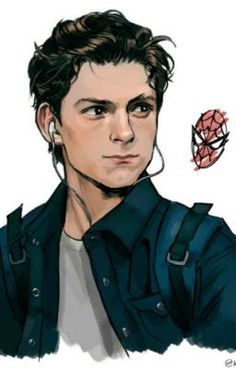 The Avengers 467600373806865599 - Tom Holland is Peter Parker ♥ Credits to the artist 🙂 Source by pascaledaran Ms Marvel, Marvel Dc Comics, Marvel Heroes, Captain Marvel, Marvel Fan Art, Mundo Marvel, Captain America, The Avengers, Die Rächer
