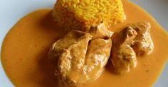 Hähnchen in Gemüserahm, ein Rezept der Kategorie Hauptgerichte mit Fleisch. Mehr Thermomix ® Rezepte auf www.rezeptwelt.de