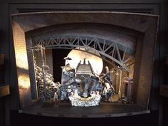Model for Charlie and the Chocolate Factory, Theatre Royal Drury Lane London. Designed by Mark Thompson.